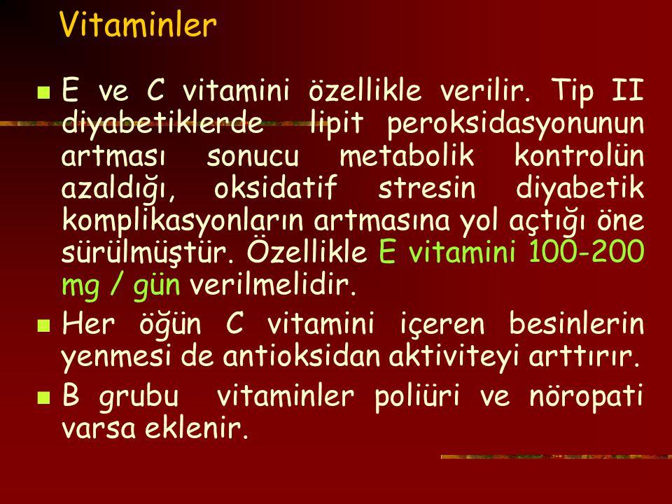 Vitaminler
