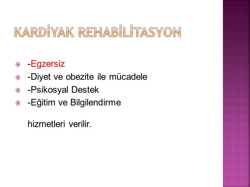 Kardİyak Rehabİlİtasyon