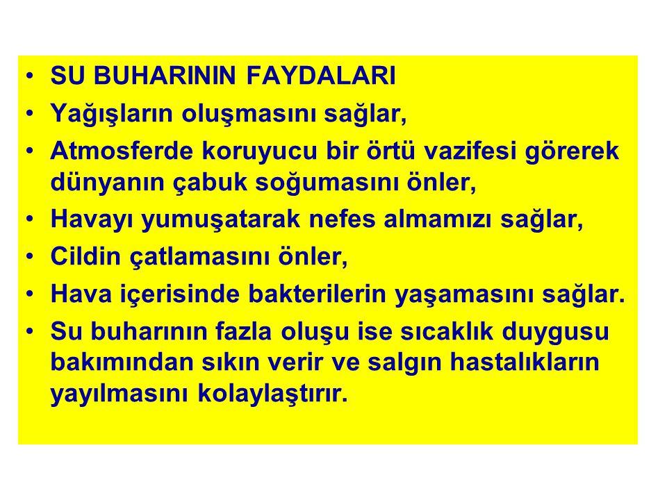 SU BUHARININ FAYDALARI
