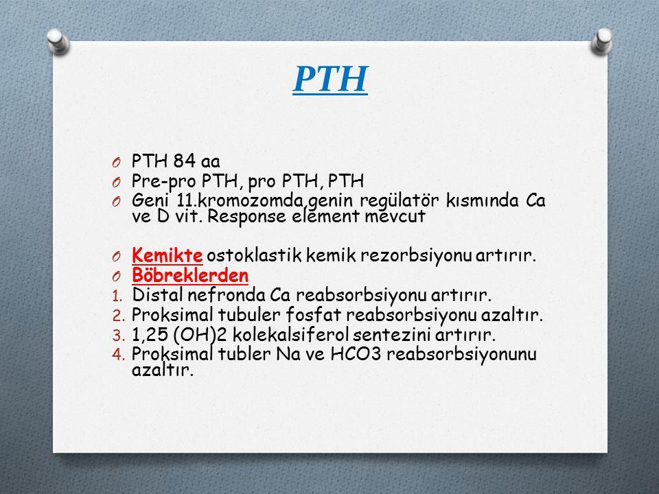 PTH PTH 84 aa Pre-pro PTH, pro PTH, PTH