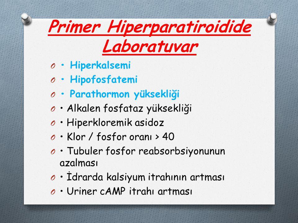 Primer Hiperparatiroidide Laboratuvar