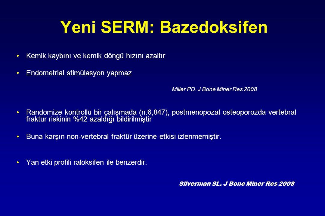 Yeni SERM: Bazedoksifen