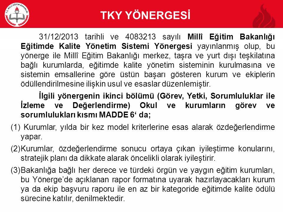 TKY YÖNERGESİ