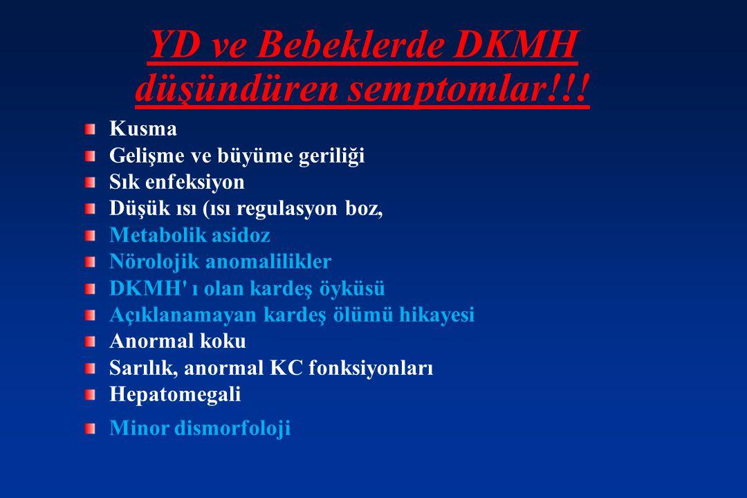 YD ve Bebeklerde DKMH düşündüren semptomlar!!!