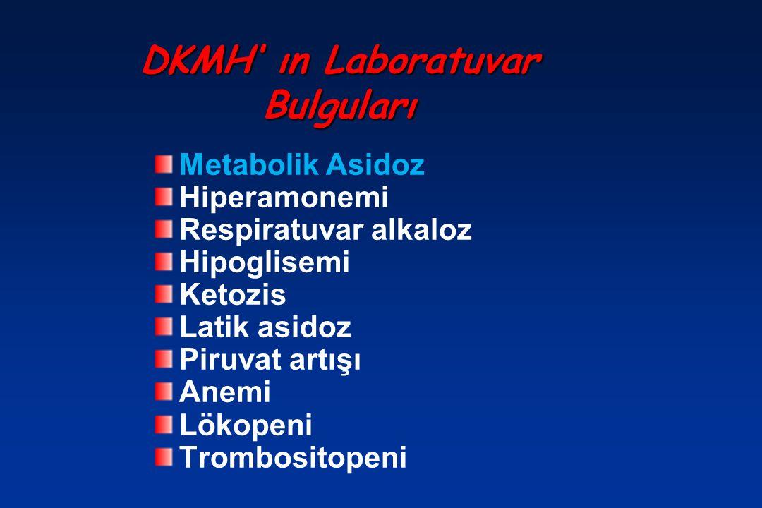 DKMH' ın Laboratuvar Bulguları