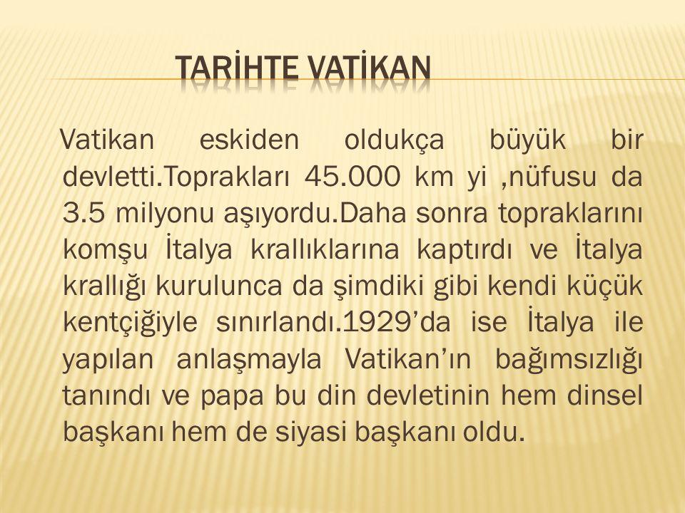TARİHTE VATİKAN