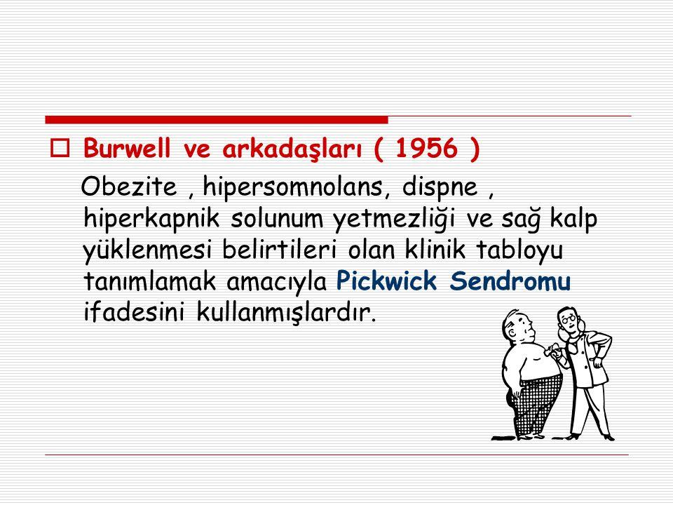 Burwell ve arkadaşları ( 1956 )