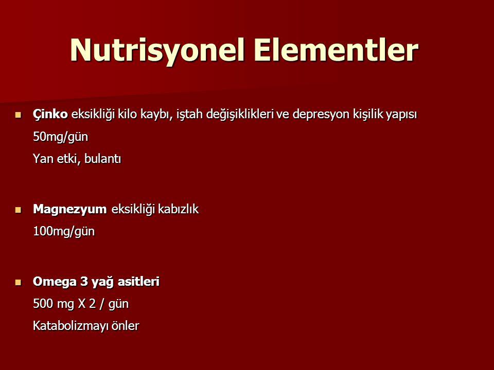 Nutrisyonel Elementler