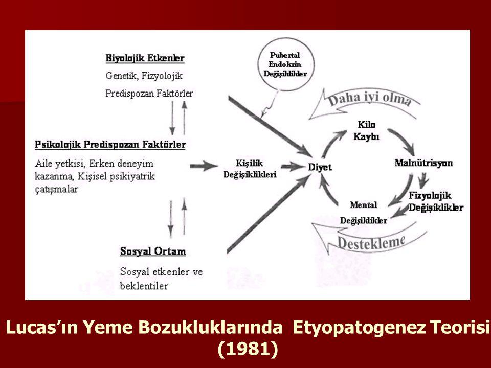 Lucas'ın Yeme Bozukluklarında Etyopatogenez Teorisi (1981)
