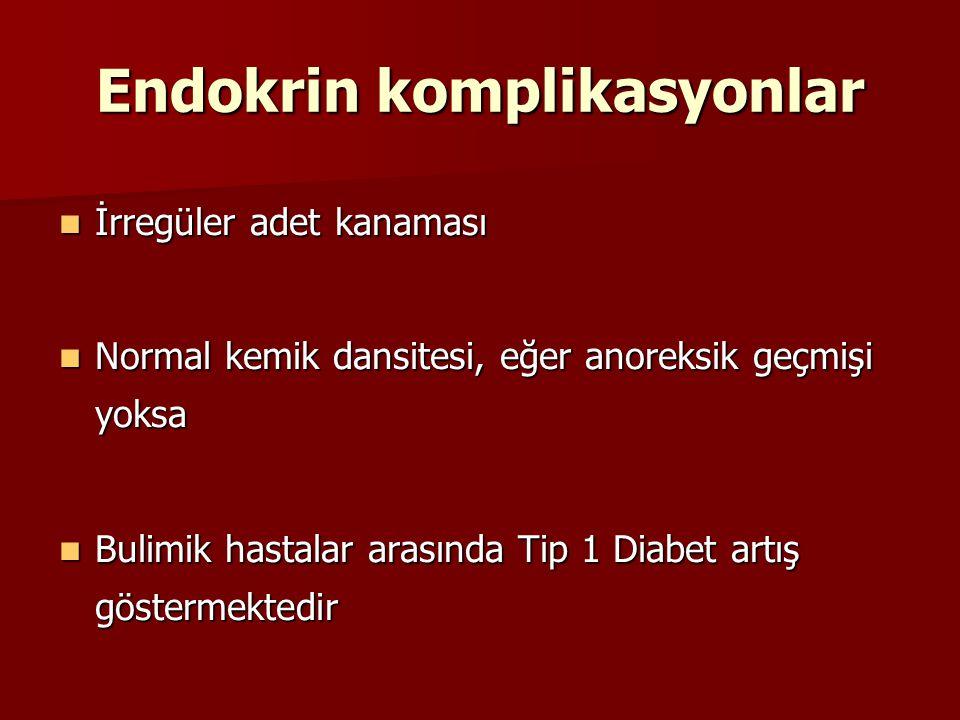 Endokrin komplikasyonlar