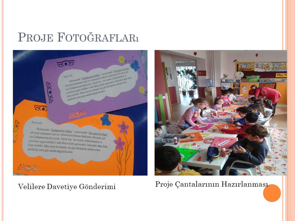 Proje Fotoğrafları Proje Çantalarının Hazırlanması