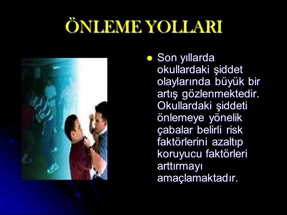 ÖNLEME YOLLARI
