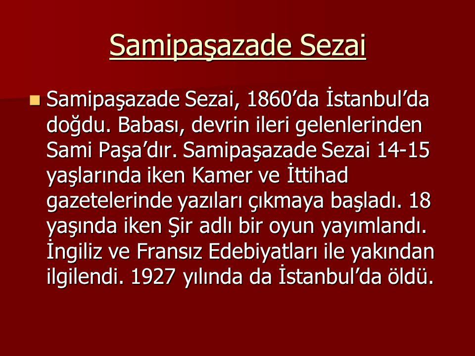 Samipaşazade Sezai