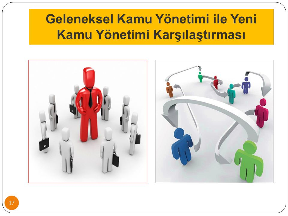 Geleneksel Kamu Yönetimi ile Yeni Kamu Yönetimi Karşılaştırması