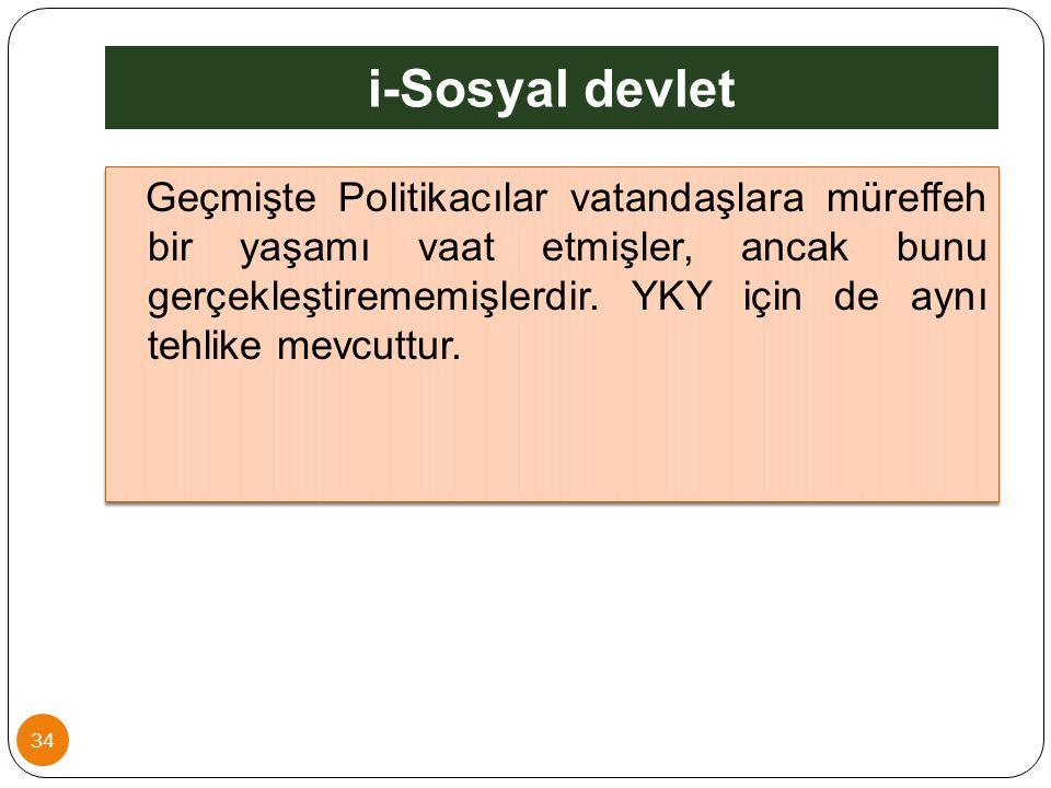 i-Sosyal devlet