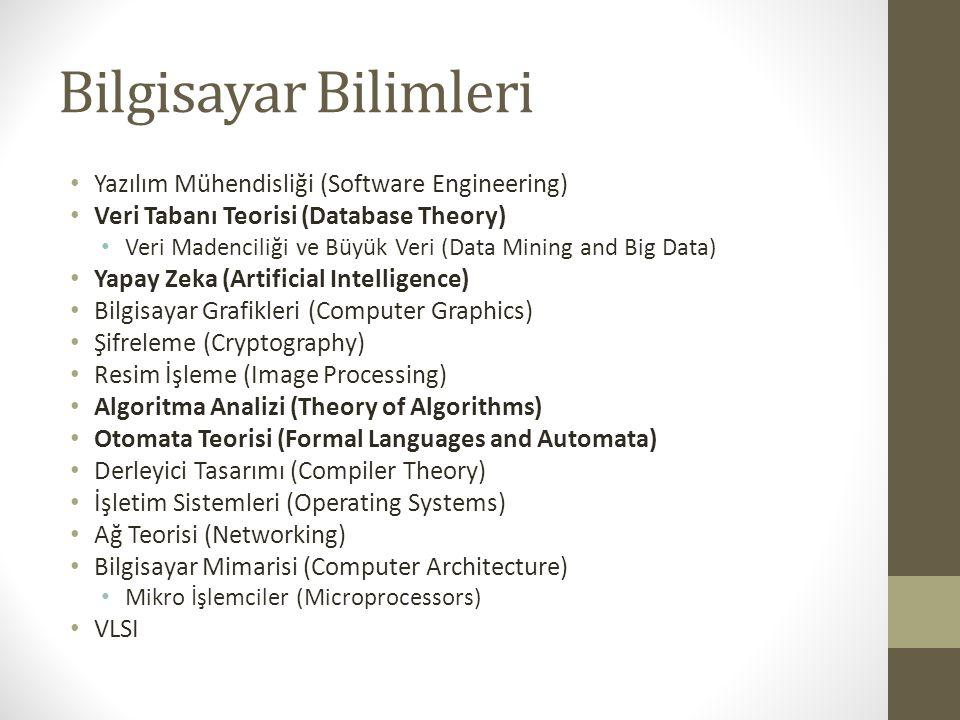 Bilgisayar Bilimleri Yazılım Mühendisliği (Software Engineering)
