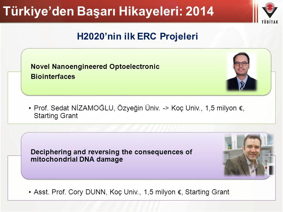 Türkiye'den Başarı Hikayeleri: 2014