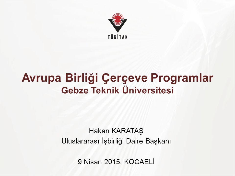 Avrupa Birliği Çerçeve Programlar Gebze Teknik Üniversitesi