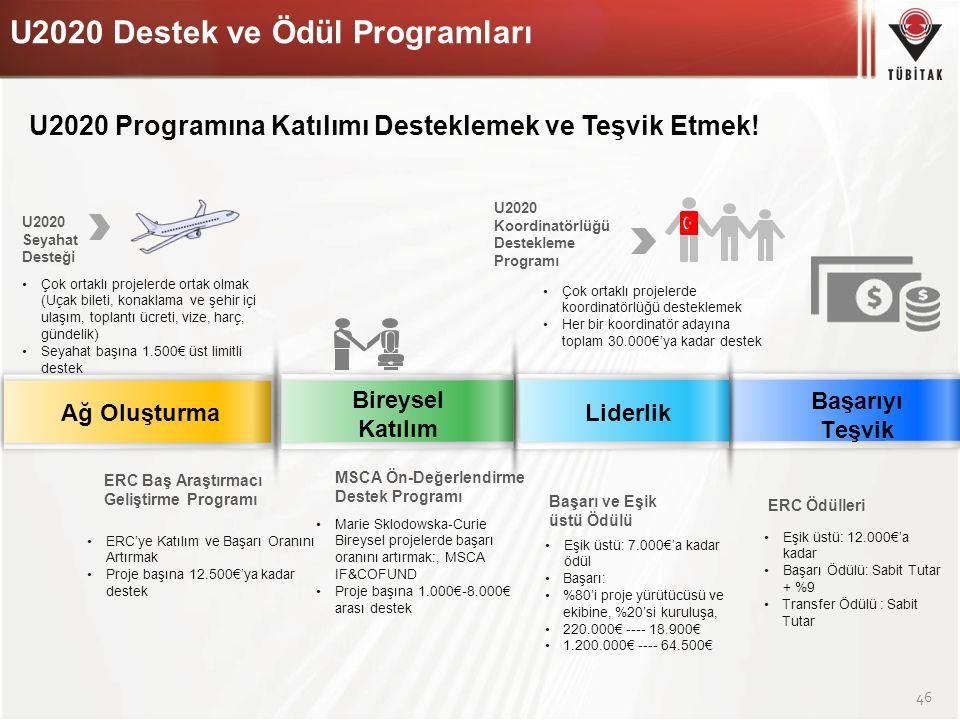 U2020 Programına Katılımı Desteklemek ve Teşvik Etmek!