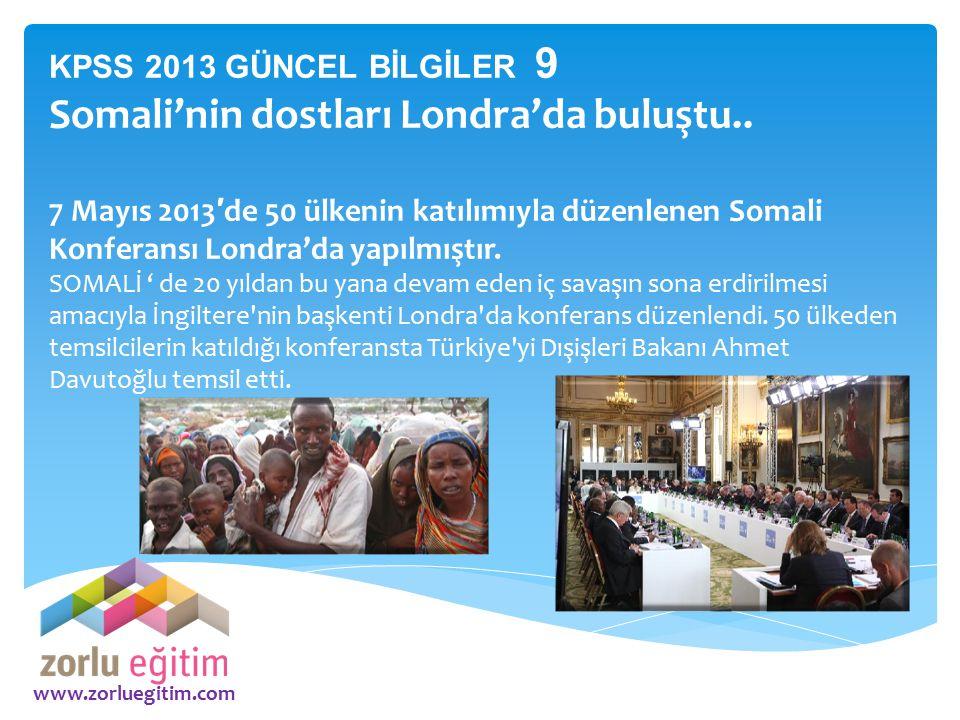 Somali'nin dostları Londra'da buluştu..