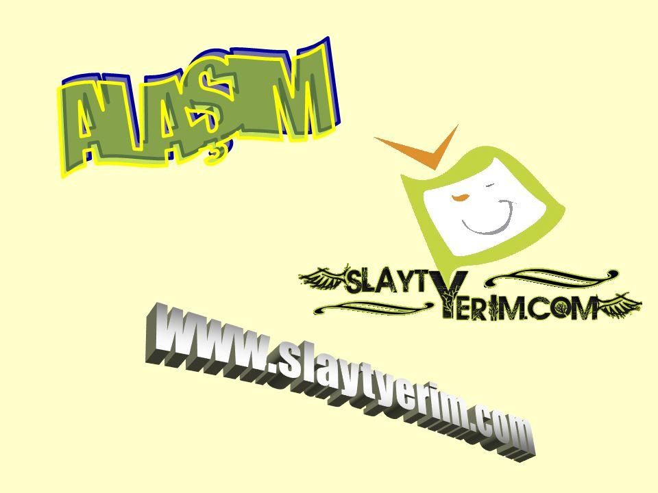 ALAŞIM www.slaytyerim.com