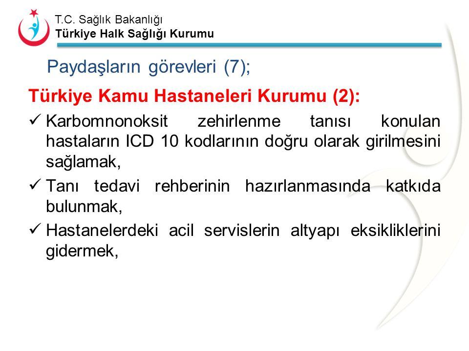 Paydaşların görevleri (7);