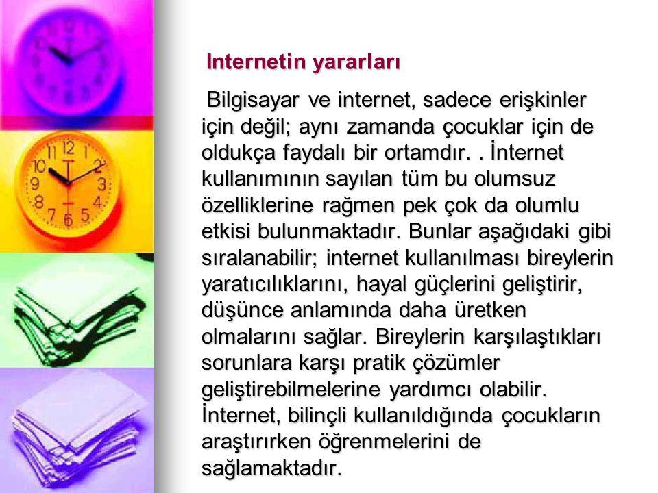 Internetin yararları