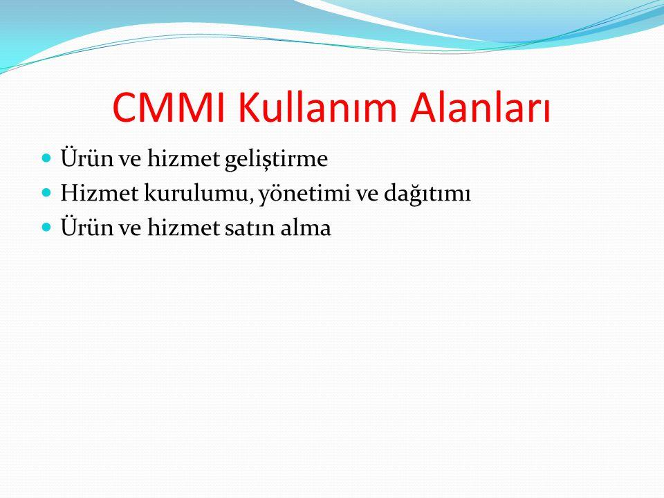 CMMI Kullanım Alanları