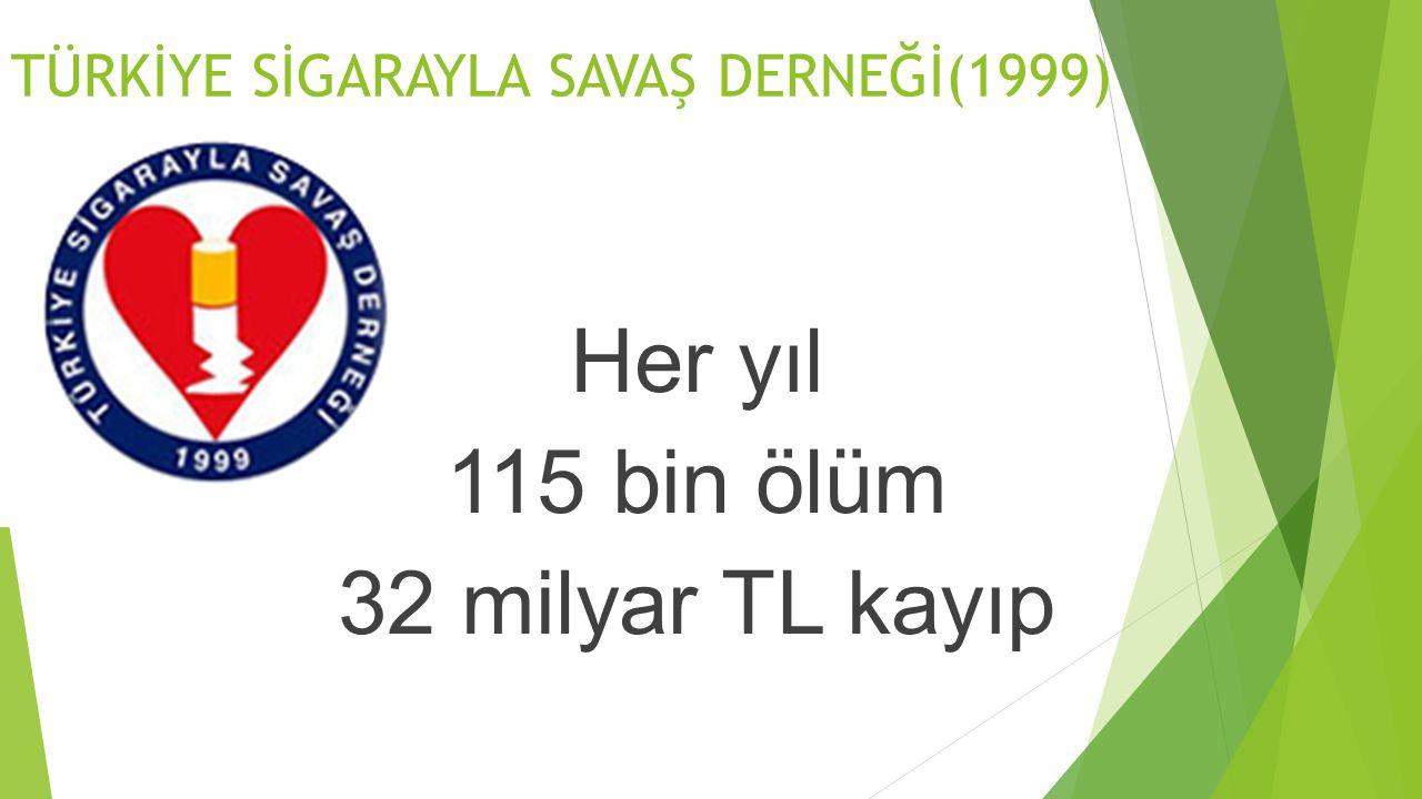 TÜRKİYE SİGARAYLA SAVAŞ DERNEĞİ(1999)
