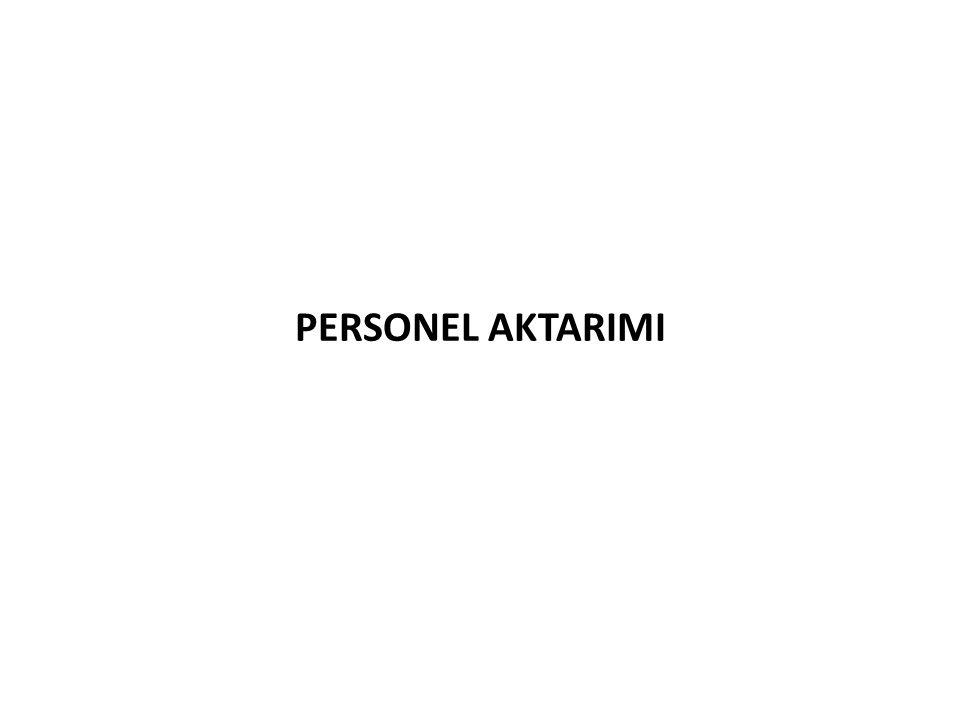 PERSONEL AKTARIMI