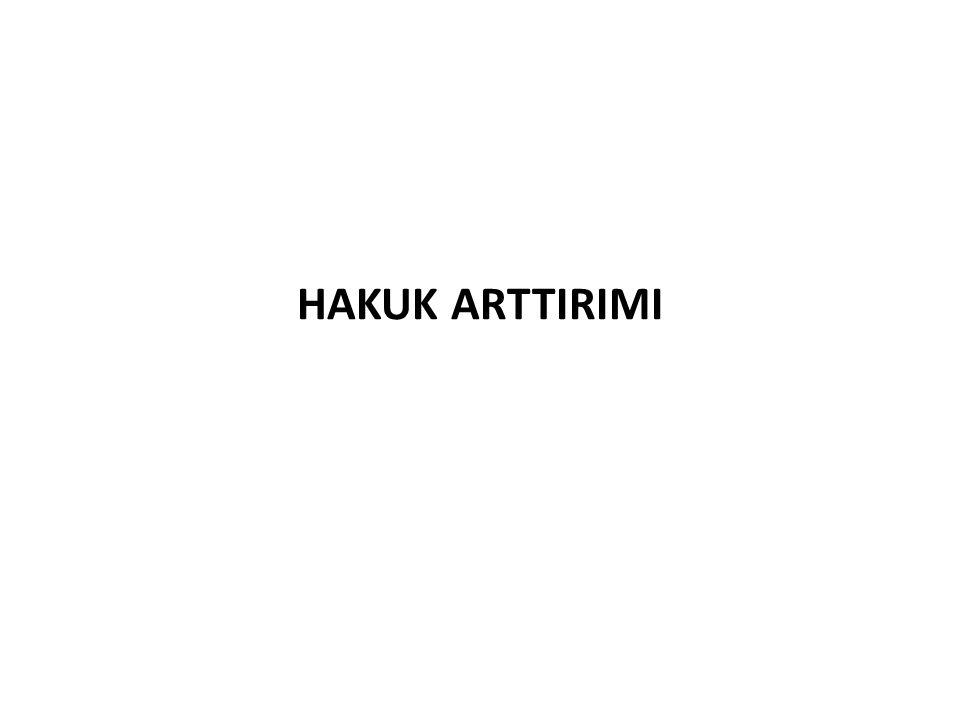 HAKUK ARTTIRIMI