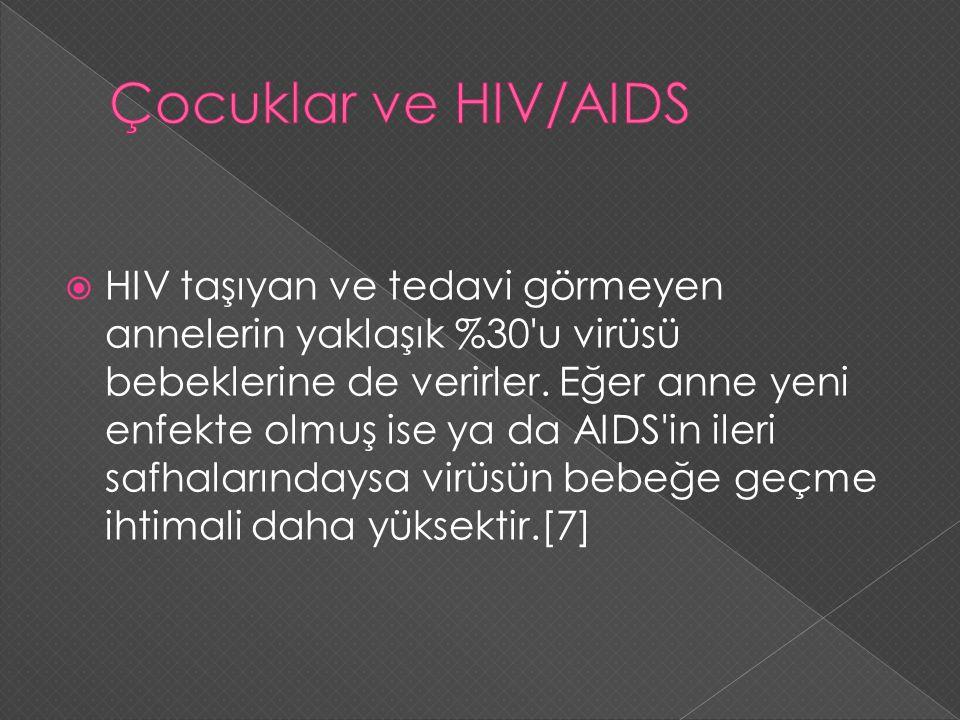 Çocuklar ve HIV/AIDS