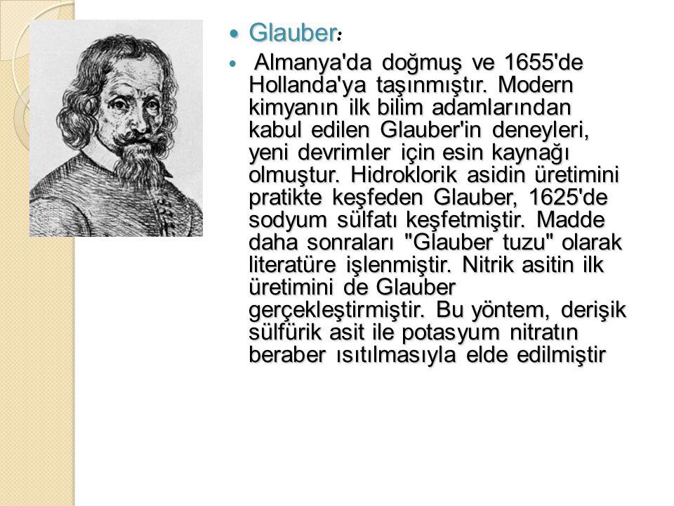 Glauber: