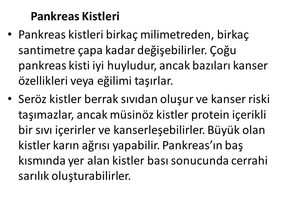 Pankreas Kistleri