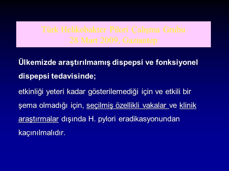 Türk Helikobakter Pilori Çalışma Grubu 28 Mart 2009, Gaziantep