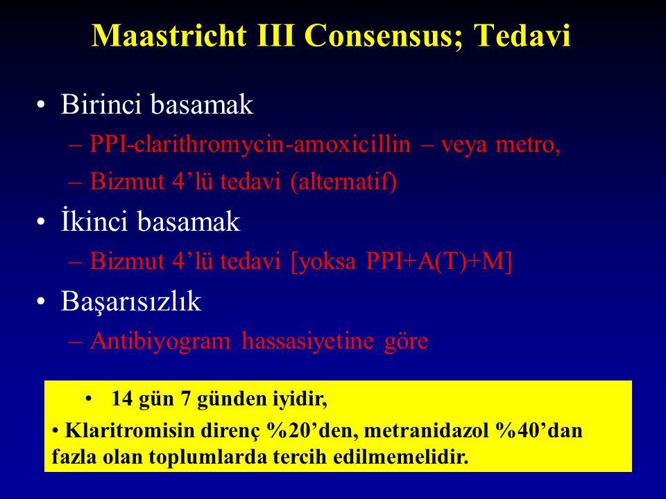 Maastricht III Consensus; Tedavi