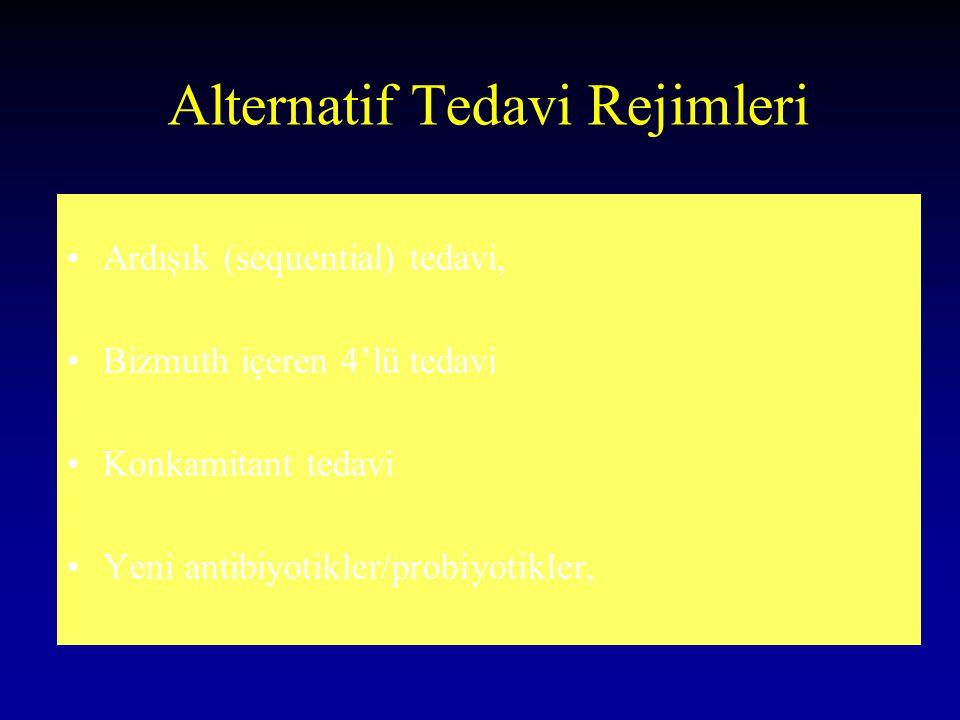 Alternatif Tedavi Rejimleri