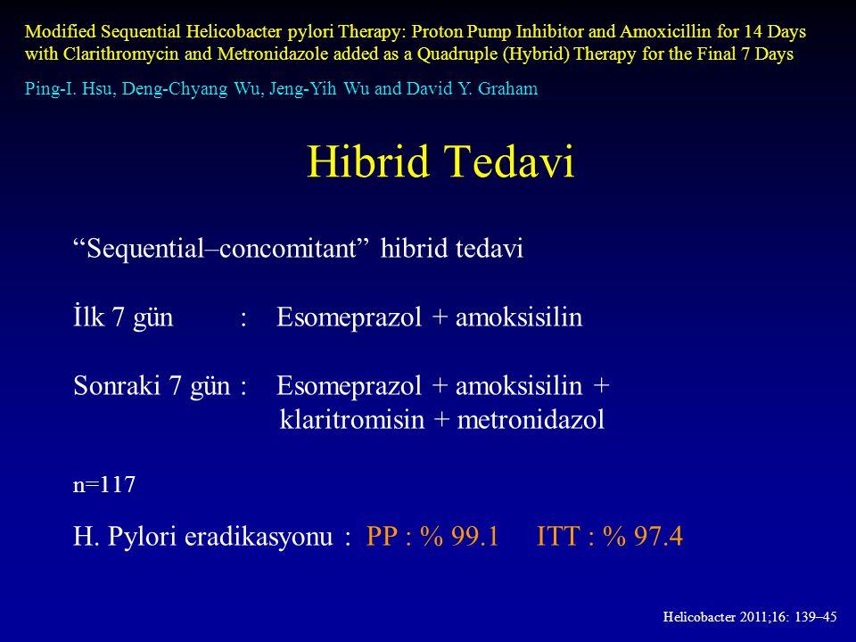 Hibrid Tedavi Sequential–concomitant hibrid tedavi