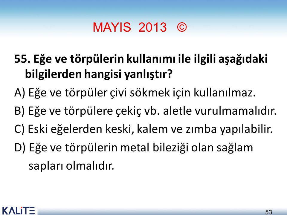 MAYIS 2013 ©