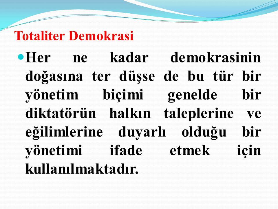 Totaliter Demokrasi