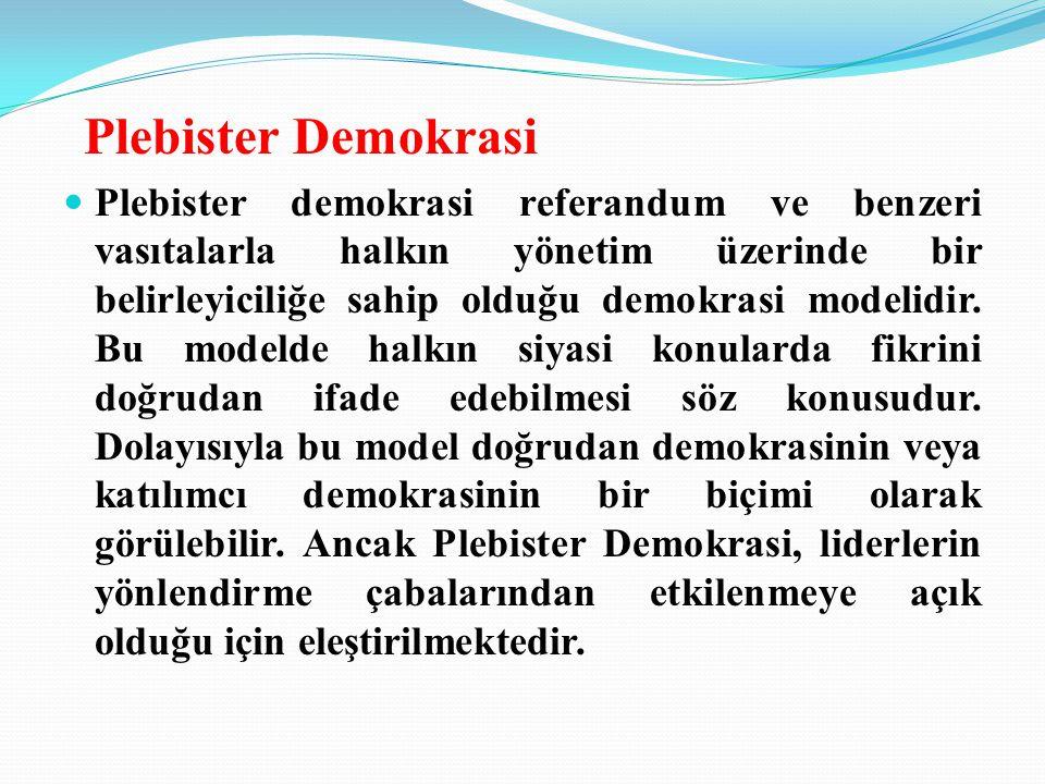 Plebister Demokrasi