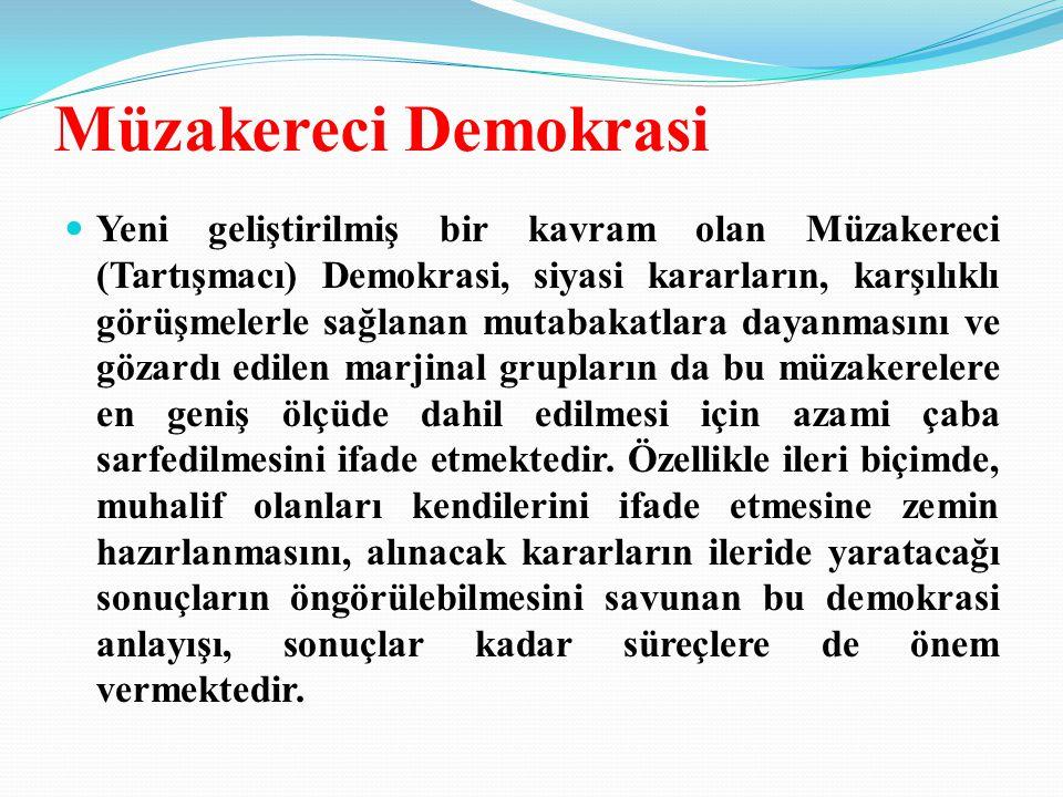 Müzakereci Demokrasi