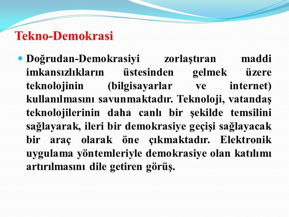Tekno-Demokrasi