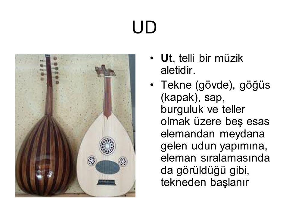 UD Ut, telli bir müzik aletidir.