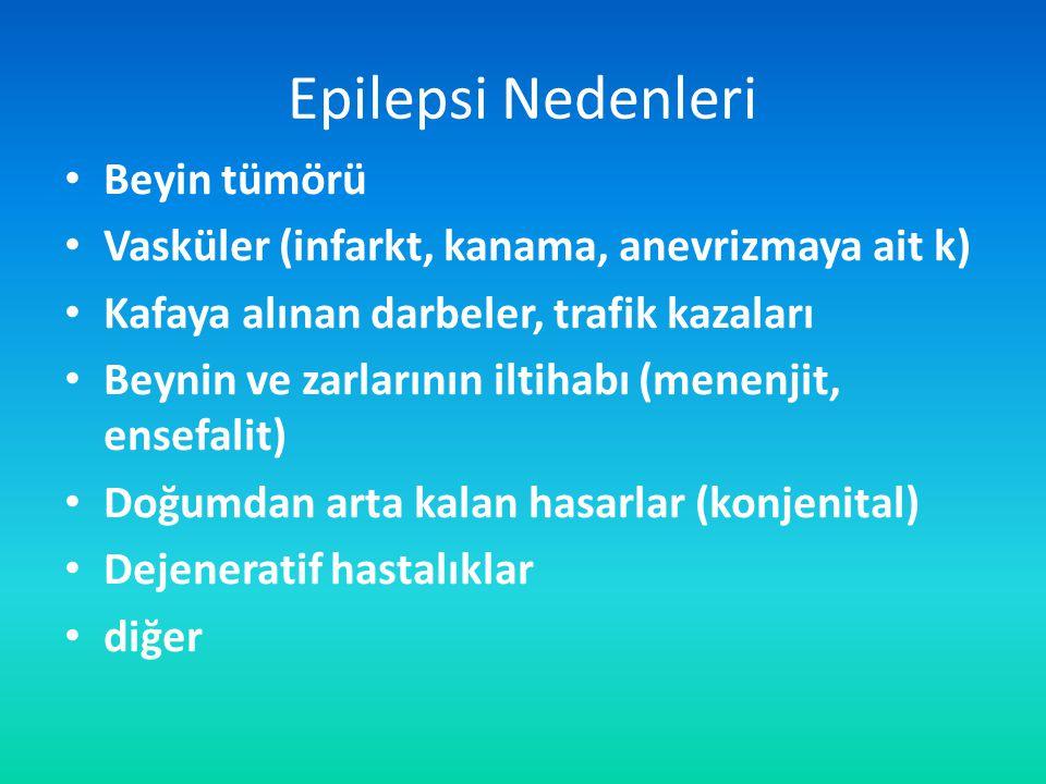 Epilepsi Nedenleri Beyin tümörü
