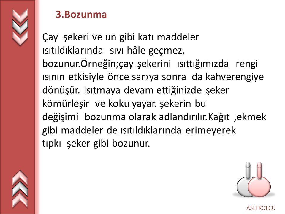 3.Bozunma