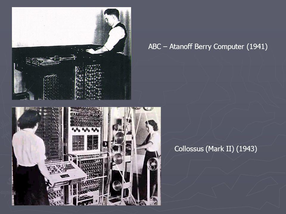 ABC – Atanoff Berry Computer (1941)