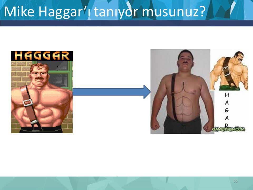 Mike Haggar'ı tanıyor musunuz