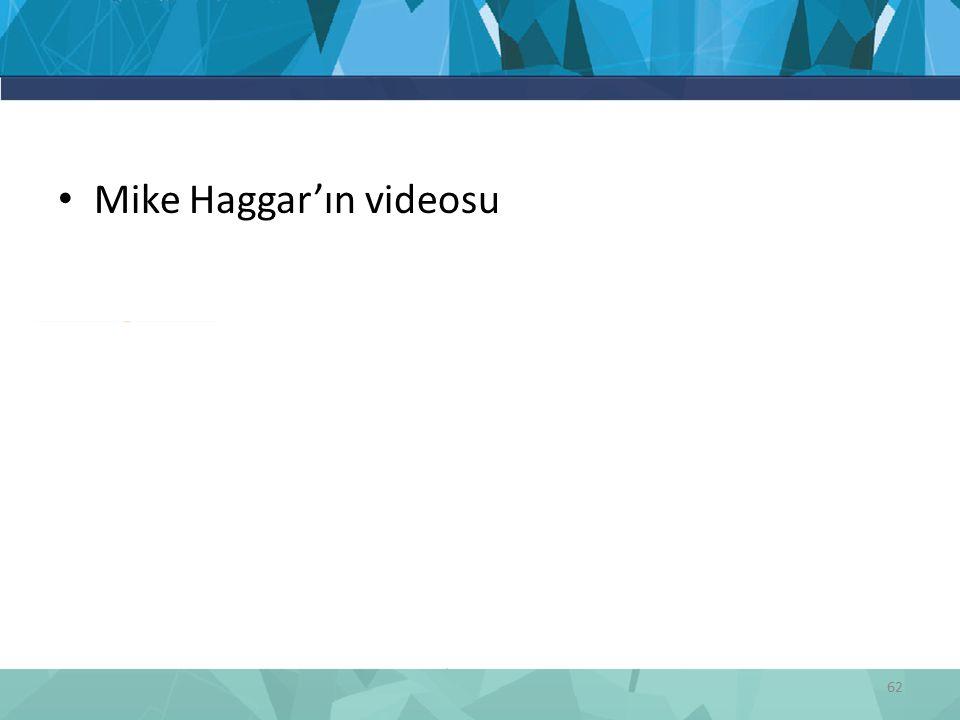 Mike Haggar'ın videosu