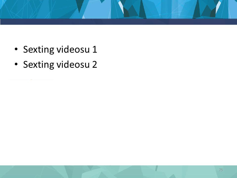 Sexting videosu 1 Sexting videosu 2